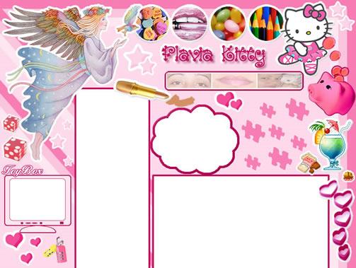 Vs. 03 Weblogger, comecei a chamar de Flávia Kitty - Julho/2004